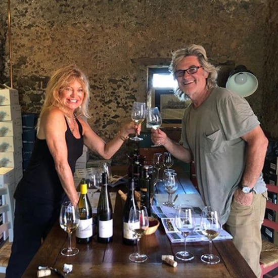 Goldie Hawn and Kurt Russell Family Vacation in Greece 2018