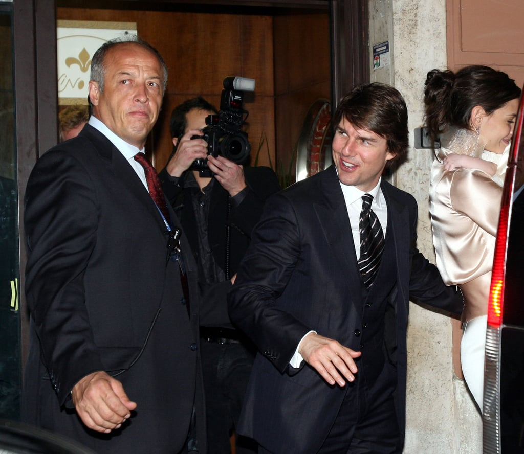 Tom Cruise and Katie Holmes prepared for the big day.