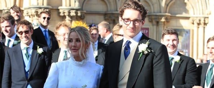 Ellie Goulding's Wedding Dress