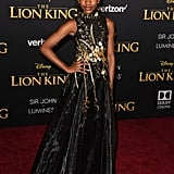 Pictured: Demi Singleton at The Lion King premiere in Hollywood.
