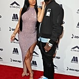Cardi B and Offset at the ASCAP Rhythm & Soul Music Awards in 2019
