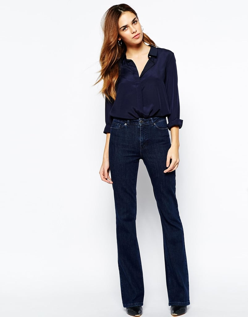 Warehouse Flared Jeans, $80.77