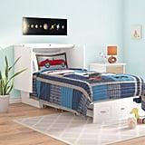 Viv + Rae Charles Twin Storage Murphy Bed With Mattress