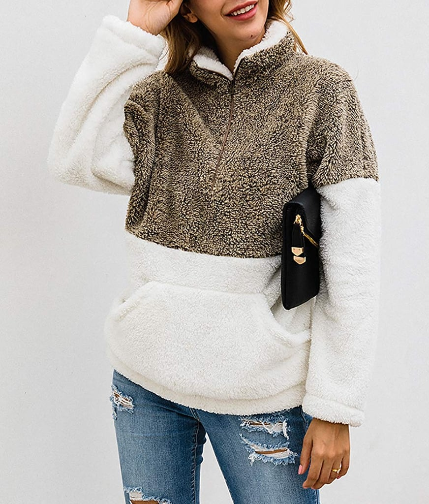 A Cuddly Sherpa Sweatshirt