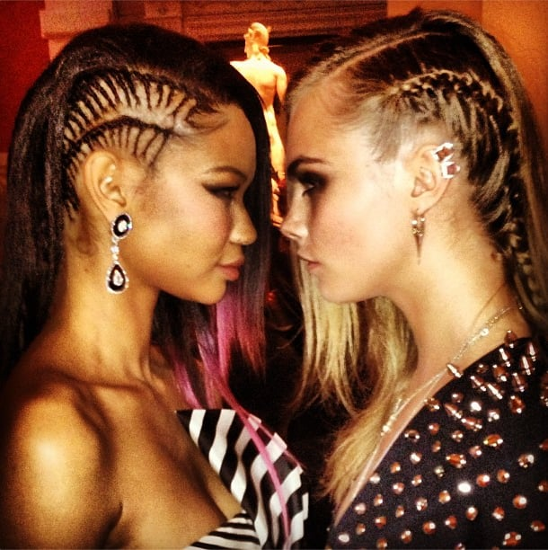Brazen Braids With Chanel Iman