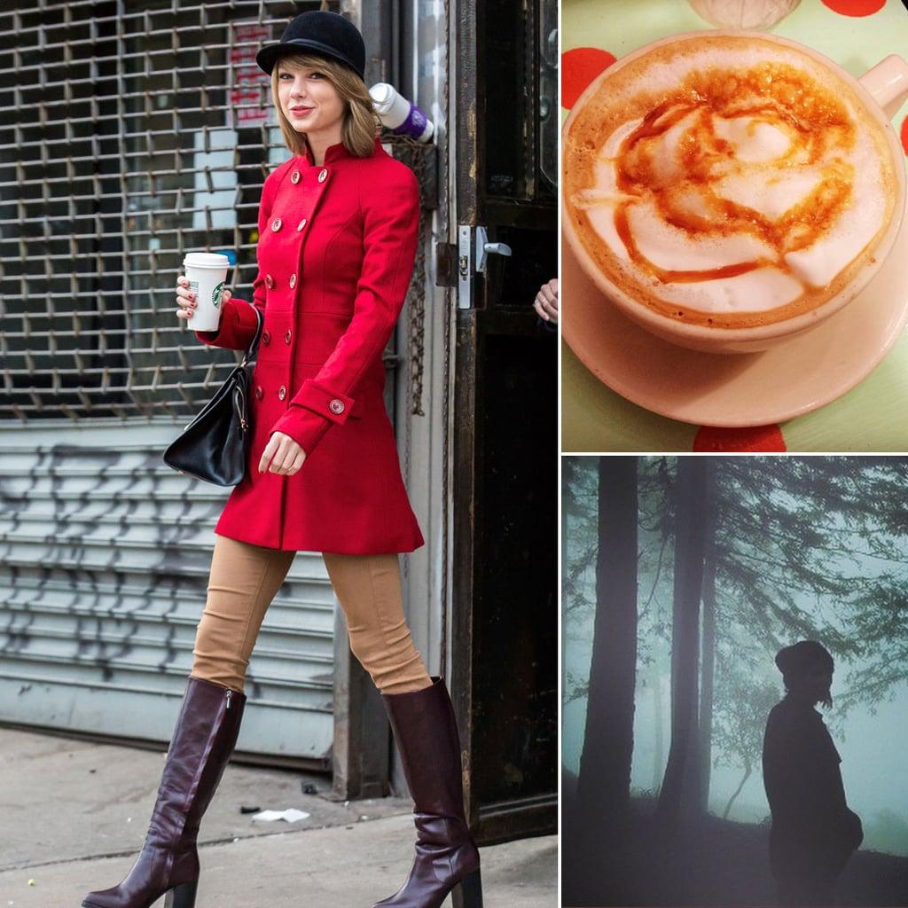 Taylor Swift Loves Fall