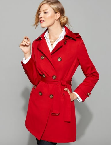 MICHAEL Michael Kors Double-Breasted Trench Coat ($150, originally $240)