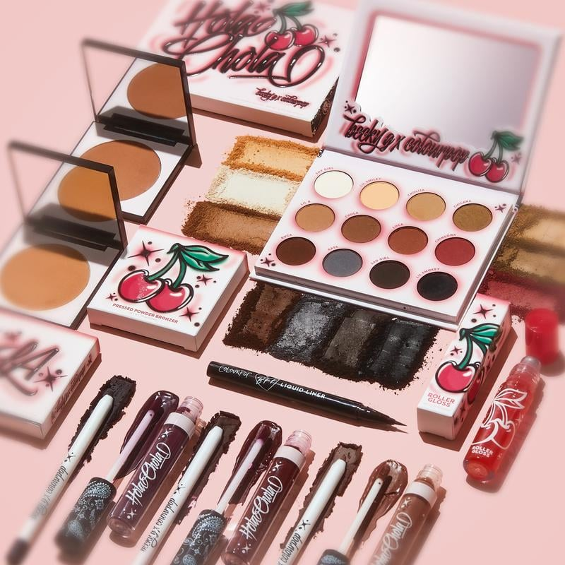 ColourPop x Becky G Hola Chola Full Collection