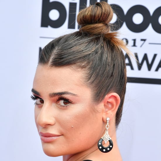 Lea Michele Hair and Makeup 2017 Billboard Music Awards