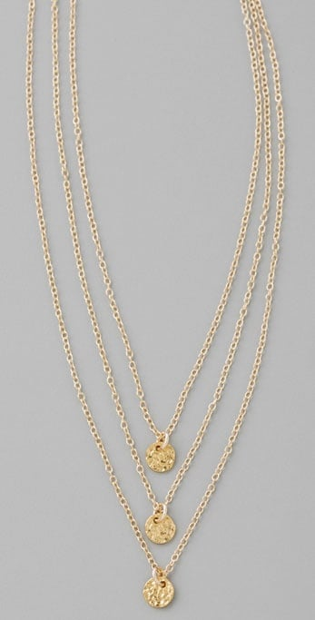Giorjana Three Disc Necklace ($62)