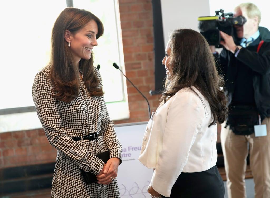 Kate Middleton Children's Center London September 2015