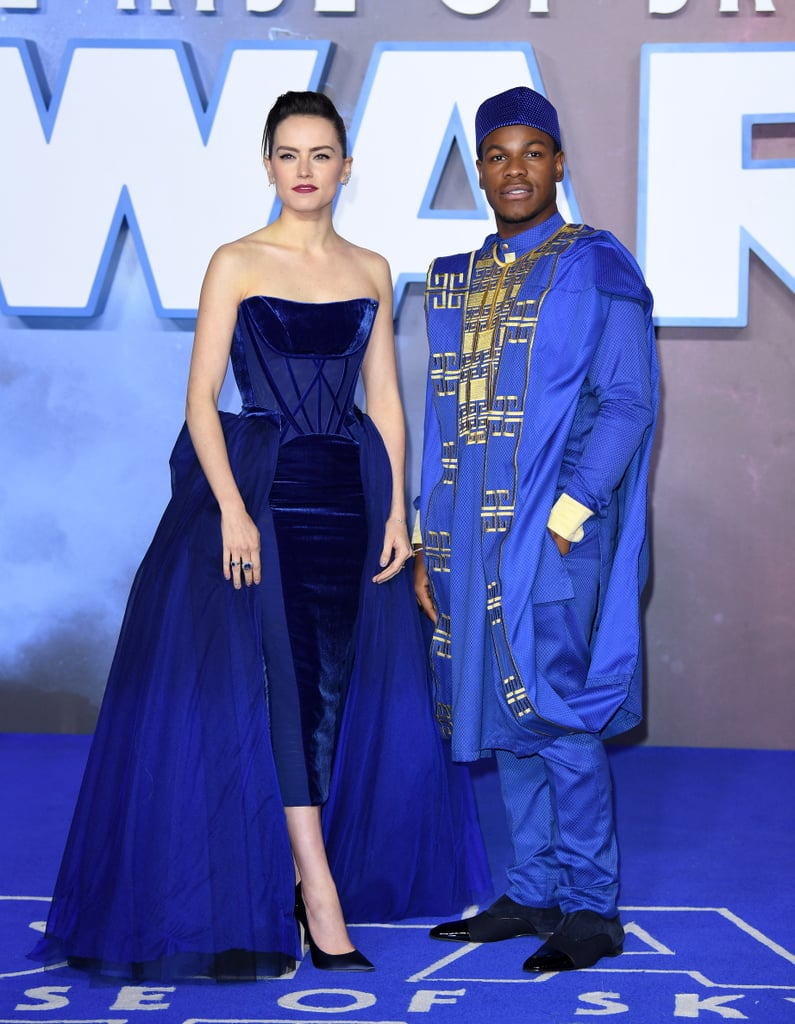 Daisy Ridley and John Boyega at the London Premiere For Star Wars: The Rise of Skywalker