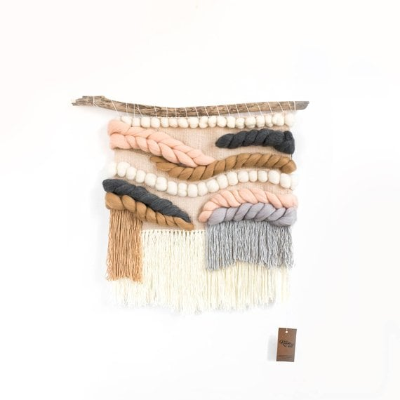 Extra Large Woven Wall Hanging