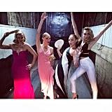 Reese Witherspoon, Kate Bosworth, Stella McCartney, and Cara Delevingne got goofy.  Source: Instagram user caradelevingne