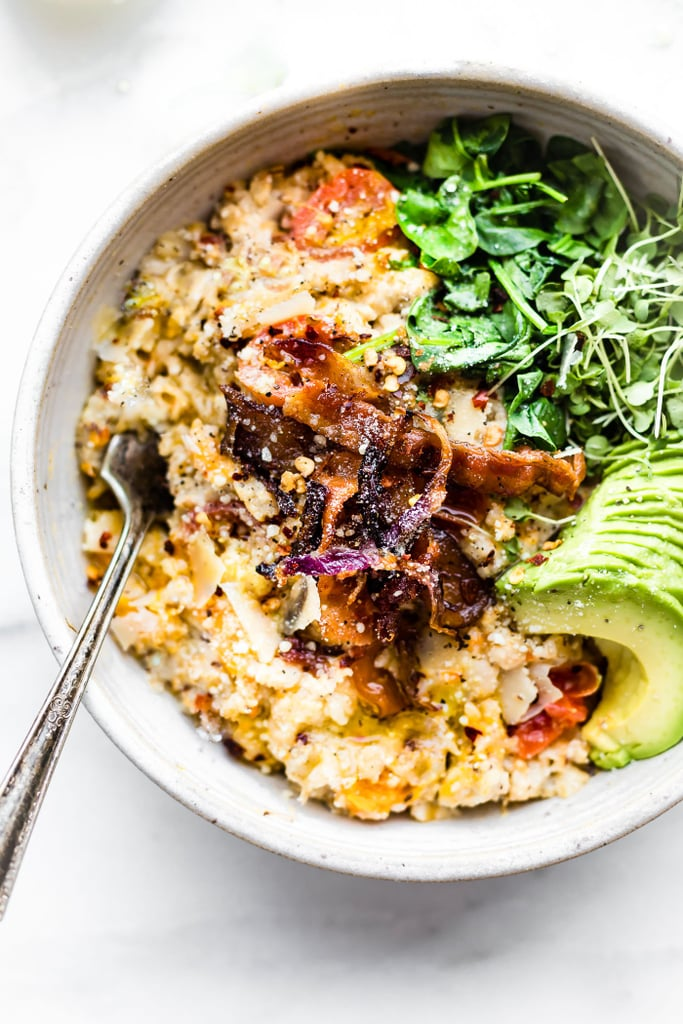 Savory Slow-Cooker Oatmeal