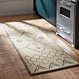 Rivet Geometric Boho Wool Runner Rug