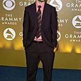Justin went for a chocolate-brown suit on the Grammys red carpet in 2004.