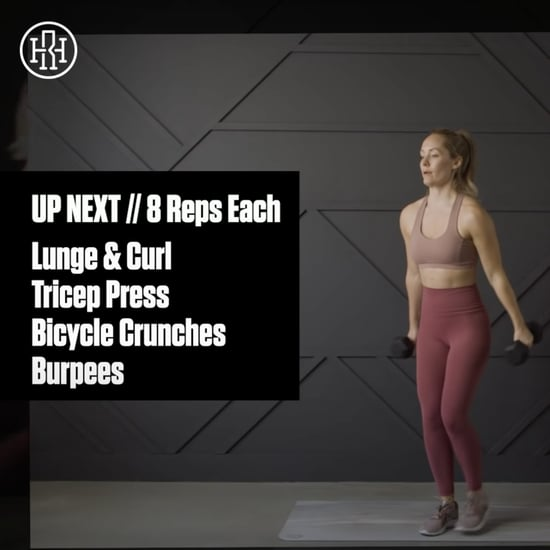 20-Minute Full-Body AMRAP Workout From Heather Robertson