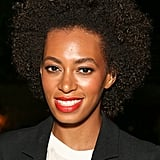 Solange Knowles was the DJ at the party.