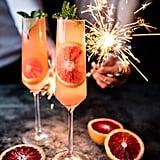 Blood Orange Champagne Mule