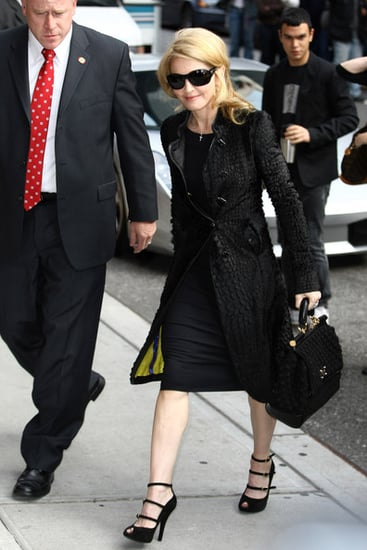 Madonna visits ''Late Show with David Letterman''