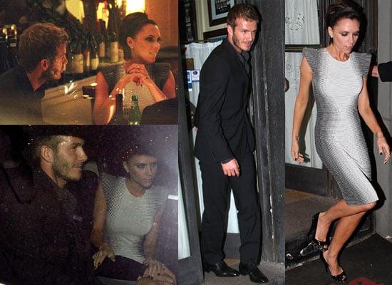 10/03/2009 Beckhams in Milan