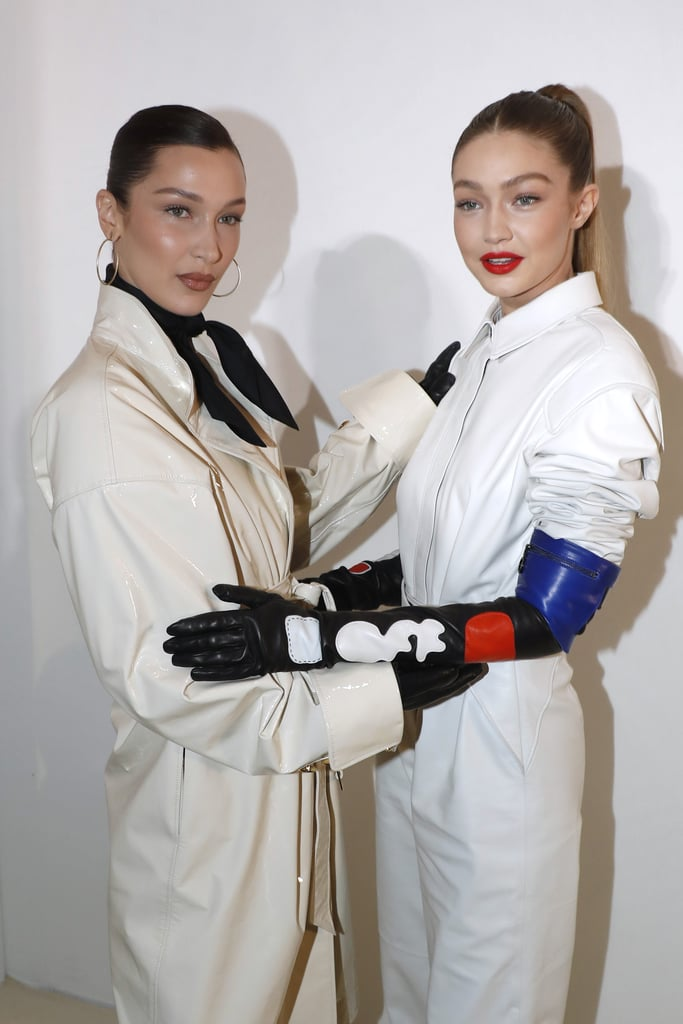 Gigi and Bella Hadid Matching Outfits in Paris March 2019