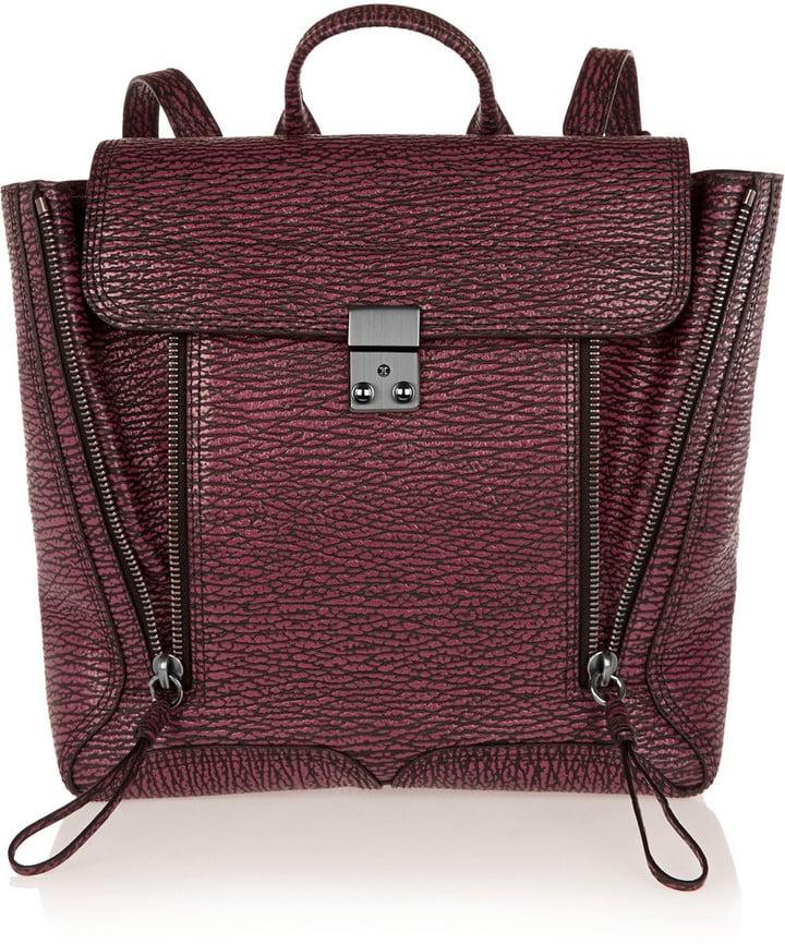 3.1 Phillip Lim The Pashli Textured-Leather Backpack ($488, originally $975)