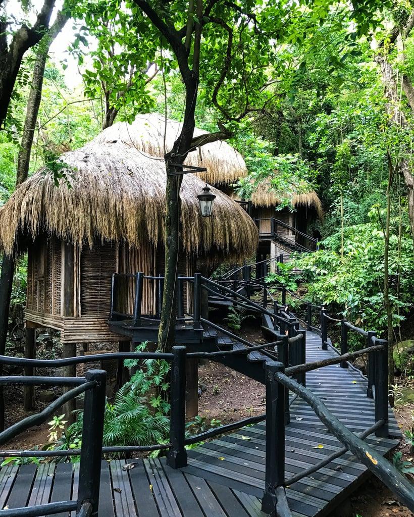 Go to the Rainforest Spa Hideaway at Sugar Beach