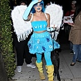 Lucy Hale put a lot of effort into being a convincing Twitter bird.