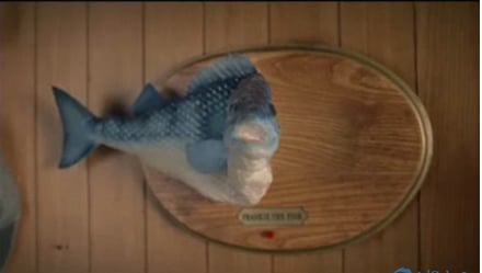 Crazy McDonald's Commercial For Filet-O-Fish