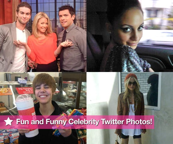 Celebrity Twitter Photos of Rachel Zoe, Diddy, Justin Bieber, Kelly Ripa, Chace Crawford and Ashton Kutcher 2010-03-11 11:08:59