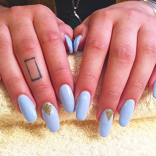 14 Coffin Nail Art Designs That Speak to Your Soul