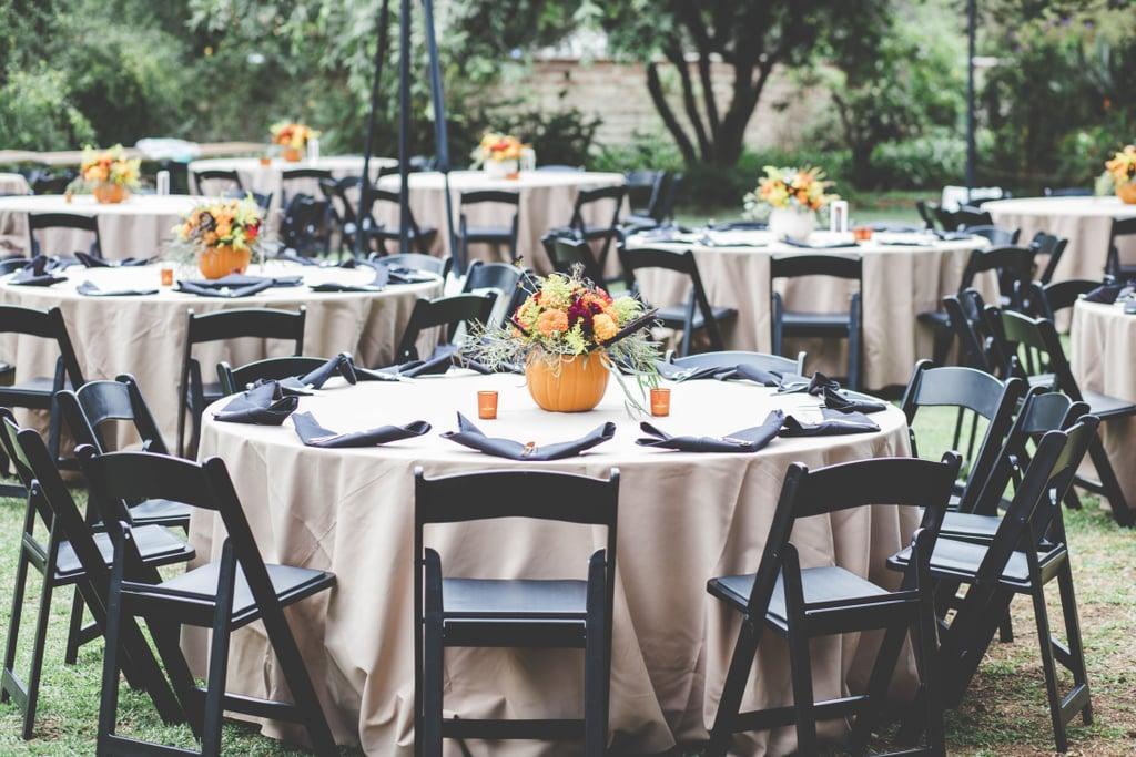 This Rustic Halloween Wedding Is Tastefully on Theme