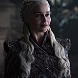 "On Dany's wardrobe being different in Winterfell: ""Michele Clapton, our unbelievably talented costume designer, really takes each character's journey and reflects that in the clothing. Every single piece that I put on made sense for the scene that I was in, and made sense with the place that the character's in at that time. There's a real throughline for this particular season, there's a real arc and I feel like fans, like hardcore fans, will clock what's happening within the reflection of the clothing. There's definitely a story to tell there."""