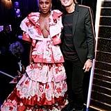 Cynthia Erivo and Keith Urban at the 2020 Grammys