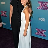 Britney Spears cheered for her protégée Carly Rose Sonenclar.