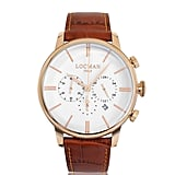 Locman Rose Gold Chronograph Watch
