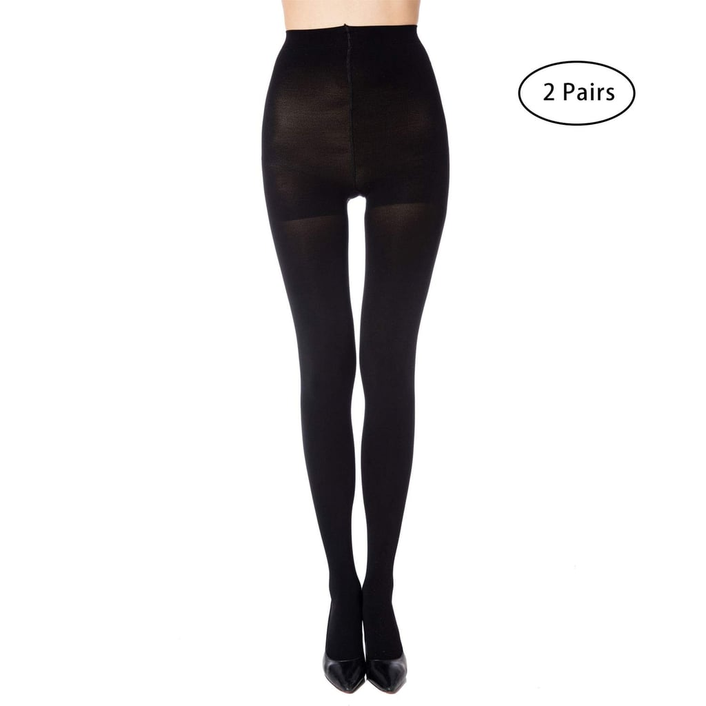 Manzi Run Resistant Control Top Opaque Tights