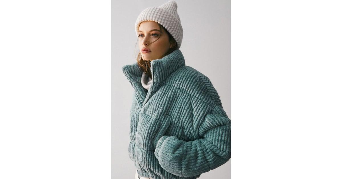 UO Fluffy Corduroy Puffer Coat | Best Puffer Coats ...