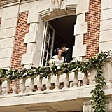 Royal Wedding-Inspired Balcony Kiss