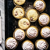 Coconut Raspberry Cupcakes With Raspberry Buttercream