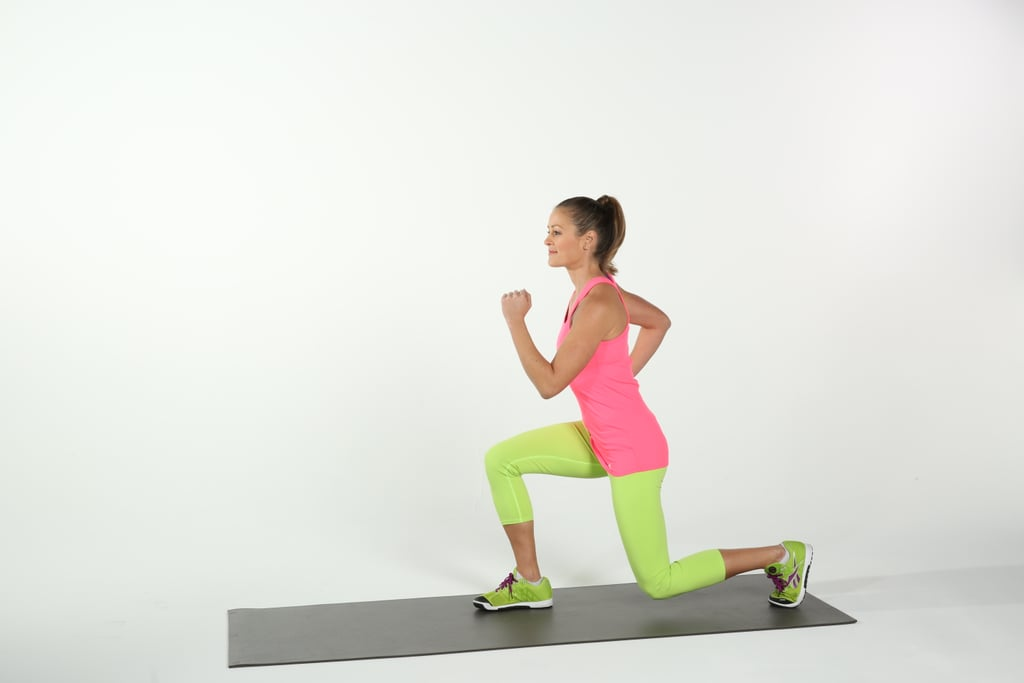 Step Up to Reverse Lunge