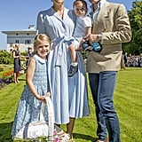 Princess Estelle at Crown Princess Victoria's 40th Birthday Party