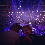Their Picture-Perfect Moment at a Coldplay Concert