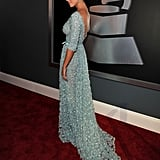 Katy Perry picked Elie Saab for the Grammys.