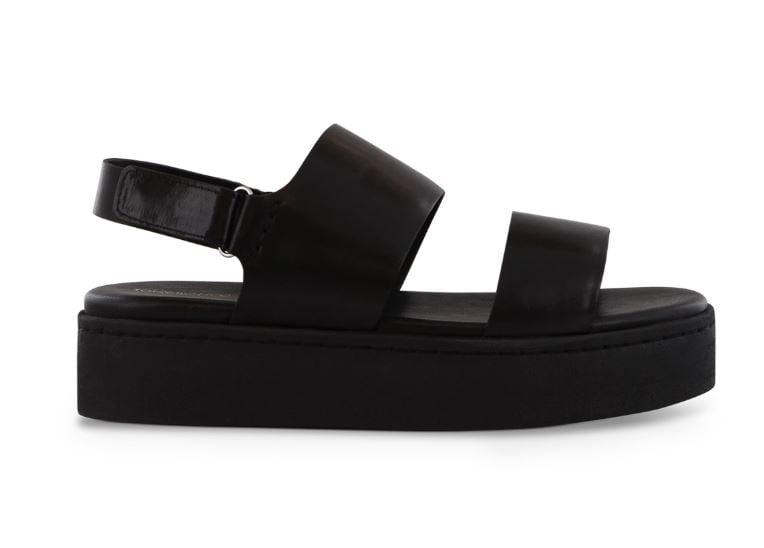 Tony Bianco Paisley Black Trieste Sandals ($169.95)