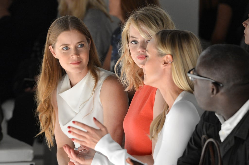 Amy Adams, Emma Stone, and Diane Kruger all took front-row seats at Calvin Klein's show in September 2012.