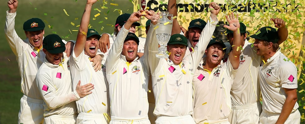 Australian Cricket Team Celebrates Ashes Victory Pictures