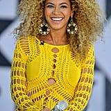 Beyoncé's Voluminous Curls in 2011